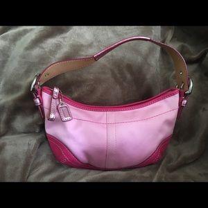 Coach Pink Demi Handbag